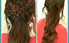 Grecian-inspired Ponytail Braided Hairstyles
