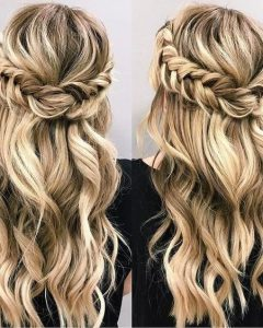 Half Up Long Hairstyles