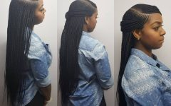 Side Parted Braid Hairstyles