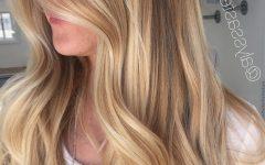 Sunkissed Long Locks Blonde Hairstyles