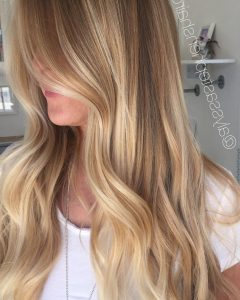 Sunkissed Long Locks Blonde Hairstyles