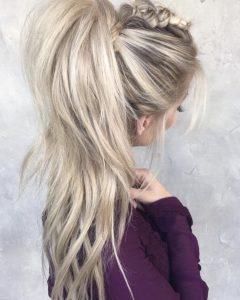 Teased Long Hair Mohawk Hairstyles
