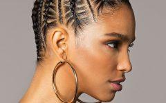 Ultra Modern U-shaped Under Braid Hairstyles