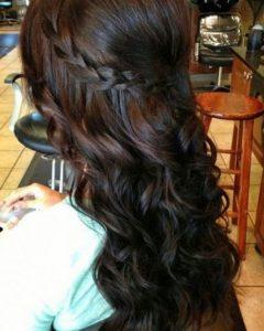 Wedding Hairstyles For Long Hair Bridesmaid