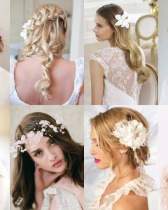 Wedding Hairstyles For Long Hair With Fascinator