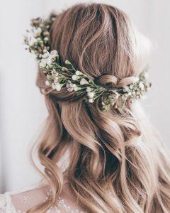 Roses Wedding Hairstyles