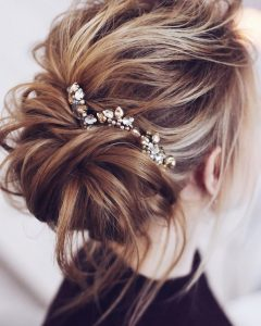 Messy Wedding Hairstyles For Long Hair