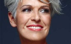 Short Hairstyles for Grey Haired Woman