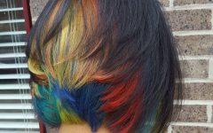 Rainbow Bob Haircuts