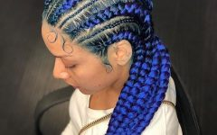 Thick Cornrows Braided Hairstyles