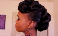 African American Updo Wedding Hairstyles