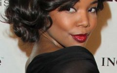 Updos for Short Hair for African American