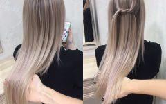 Sleek Ash Blonde Hairstyles