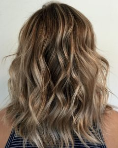 White and Dirty Blonde Combo Hairstyles
