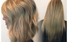 Straight Layered Tresses in A-line Hairstyles