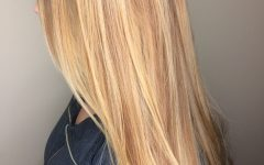 Medium Honey-hued Blonde Hairstyles