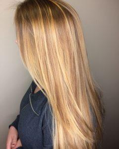 Medium Honey-Hued Blonde Hairstyles