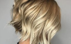Chamomile Blonde Lob Hairstyles
