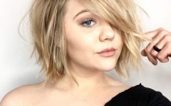 Fun Choppy Bob Hairstyles With A Deep Side Part