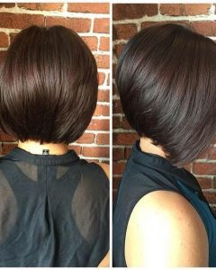 Cute Inverted Bob Hairstyles For Fine Hair