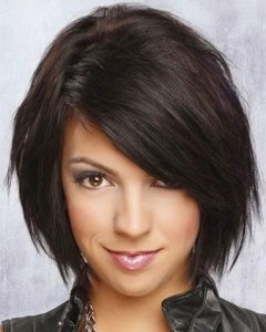 Medium Bob Hairstyles With Side Bangs
