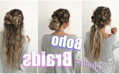 Boho Braided Hairstyles