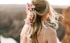 Bohemian and Free-spirited Bridal Hairstyles
