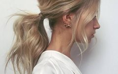 Bouffant and Braid Ponytail Hairstyles