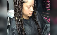 Triangle Box Braids Hairstyles