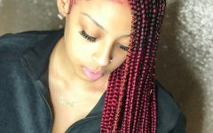 Cherry-lemonade Braided Hairstyles