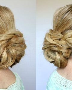 Related About Curly Low Bun Prom Hairstyles