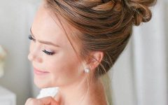 Reverse Braided Buns Hairstyles