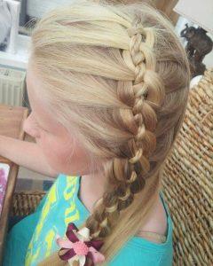 Four-strand Braid Hairstyles