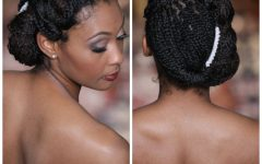 Wedding Hairstyles With Braids For Black Bridesmaids