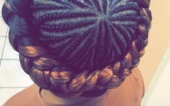 Crown Cornrow Hairstyles