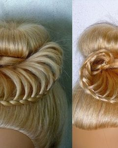 Braided Hairstyles For Dance