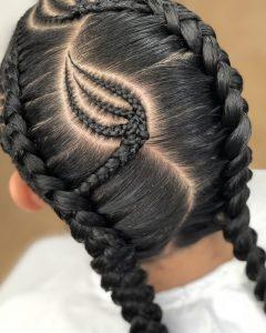 Solo Braid Hairstyles