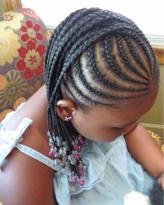 Braided Hairstyles For Little Girl