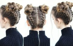 Braided Hairstyles into a Bun