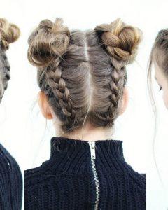 Braided Hairstyles Into A Bun