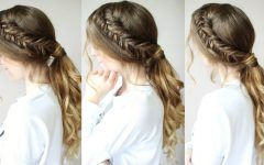 Braided Hairstyles with Ponytail
