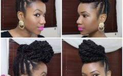 Braided Updo Hairstyles for Natural Hair