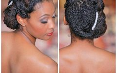 Wedding Hairstyles for Short Natural Black Hair