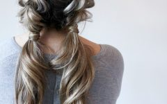 Pull-through Ponytail Updo Hairstyles