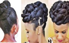 Braids and Twist Updo Hairstyles