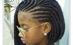 Layered Bob Braid Hairstyles