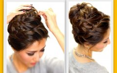 Braided Hairstyles Up into a Bun