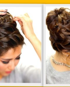 Braided Hairstyles With Buns