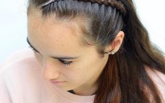 Tight Braided Hairstyles With Headband