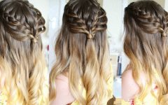 Half Up, Half Down Braid Hairstyles